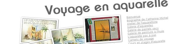 Carnets de Voyage en aquarelle